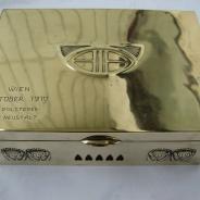 Коробка для сигар в стиле югендштиль (модерн, ар-нуво). Австрия, Вена. 1910 год.