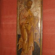 Икона Святого Апостола Петра, храмовая, Россия, конец XVII века.