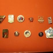 значки с советской символикой