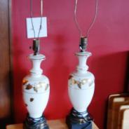 Две фарфоровые лампы