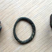Кольцо ложно витое фино-угры. 7 век.2250 евро