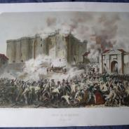 оригинальный литография 1872 Hippolyte Lalaisse