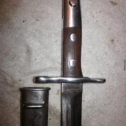 Шведский штык для винтовки Шмидт-Рубин, 2-я война  #200