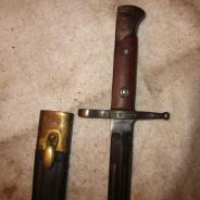 Итальянский оригинальный армейский штык Каркано 1939-45   #200