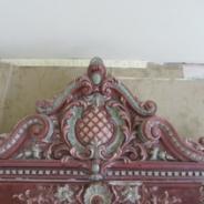 Панно керамическое 19 век облицовка печи