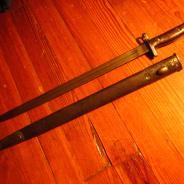 Британский штык для винтовки Енфилд 1907 год. #200
