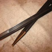 Итальянский штык для винтовки каркано-2я война.  #200