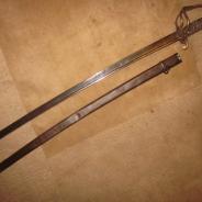 Английский кавалерийский меч офицера 1853 паттерн  #600