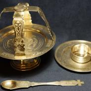 Набор Евхаристический из 5-ти предметов. Серебро