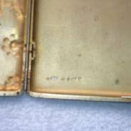 Серебряный портсигар (84-800пр) Тарабров 1908 год