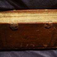 Евангелие Учительное с пояснениями святых Отцов и Учителей Церкви в переплете телячьей кожи на деревянной основе. Вильна, 1794 год.