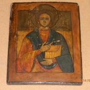 Св. великомученик Пантелеймон Целитель. 19в.Реставрация
