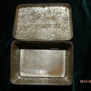 Шкатулка жестяная  из под чая