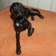 Статуэтка Собака Пойнтер. Чугун. Касли 1977 год