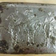 стальной портсигар три богатыря