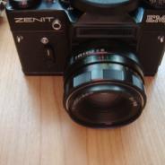 Фотоаппарат Zenit Em 1958 года выпуска