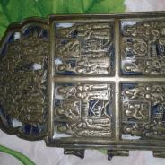 уральская старинная икона двунадесятые праздники последняя 4 часть