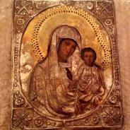 Икона Богоматерь с младенцем (письмо)