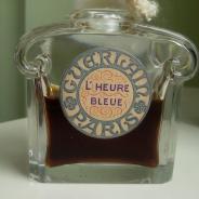 L'Heure Bleue Guerlain Parfum 80 ml (1940-1950) Baccarat - Сумерки Духи Герлен 80 мл (1930-1940) флакон Баккара