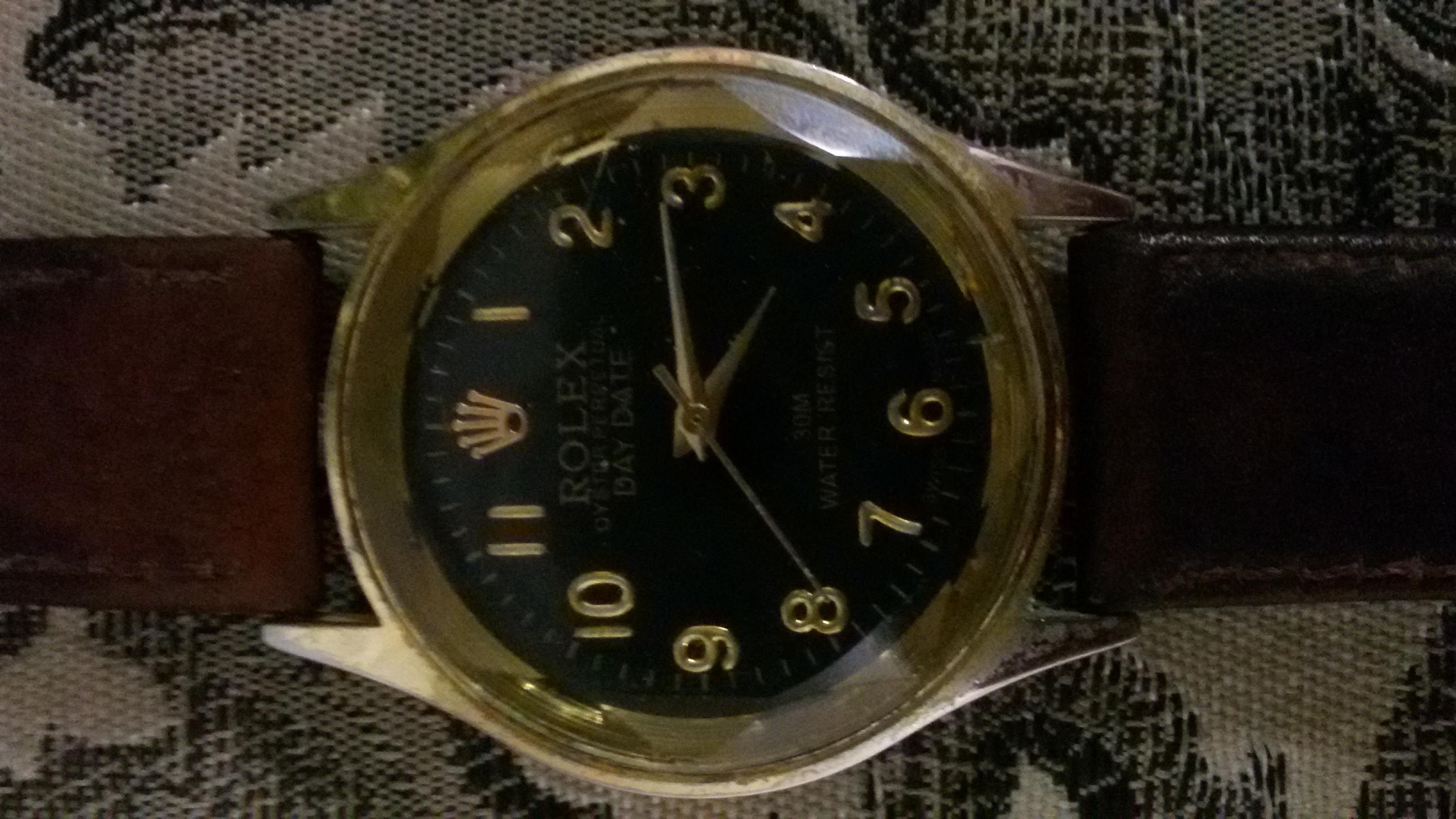 Rolex oyster perpetual day,date 30m water resist