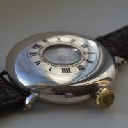 серебряные военные швейцарские часы 1912 г Benson