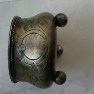 серебряная солонка 19 век
