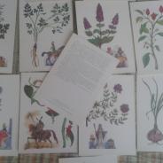 Старинные открытки-картинки СССР.