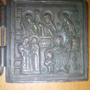 Медная иконна,начала 16 века