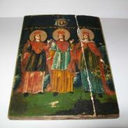 Икона Три святых