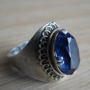 Старое кольцо с камнем