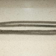 Наперсный протоиерейский (игуменский) постовой крест из дерева изысканной работы, обрамленный серебром. Россия, 1-я треть ХХ века.