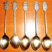 Наборы мельхиоровых ложек советское производство