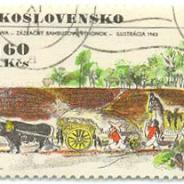 Ceskoslovensko 1971 год ilustracia 1963