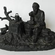 """Чернильный прибор """"Трапеза старика"""""""