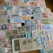 Коллекция банкнот России и зарубежных стран