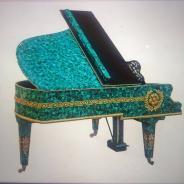 Малахитовый рояль C.M Шрёдер