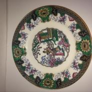 Тарелка. 19 век. Кантон, Китай