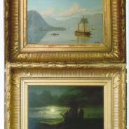 Беннеттер Жоан Жакоб, 1870 г. парные картины