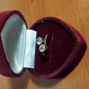 Кольцо с бриллиантами 19 век