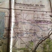 Карта немецкая трофейная