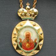 Панагия. 1908-1917 годы. Москва.