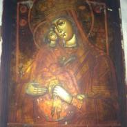 Икона Божей матери Почаевская