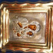 Икона Матерь Божия «Смоленская», именуемая «Одигитрия». Москва, кон. XIX века