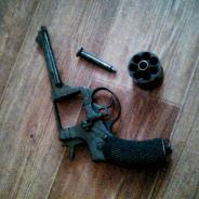 Револьвер - наган Р2 (сигнальный)