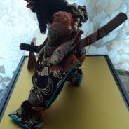 Декоративная национальная японская кукла САМУРАЙ