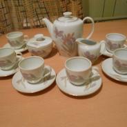 Кофейный сервиз Кольдиц фарфор