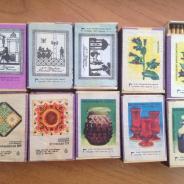 коллекция спичек советских времен