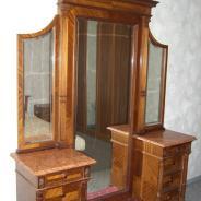 Зеркало-трюмо с тумбами начала прошлого века
