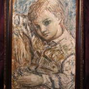 Портрет мальчика. Стиль экспрессионизм