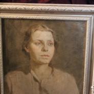 Портрет женщины. Масло